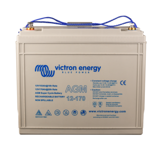 Victron Energy 12V/170Ah AGM  baterie Super Cycle (M8)